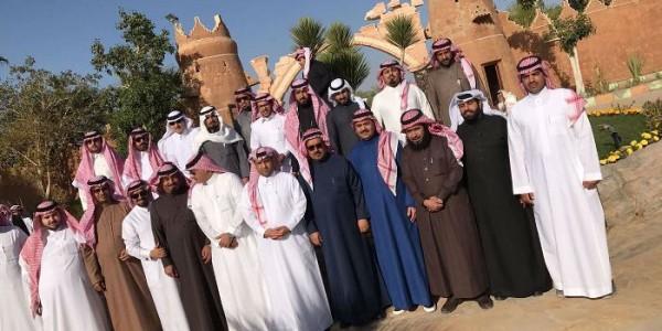 إعلاميين الرياض في ضيافة الشيخ سلمان بن حمود الهدلاء الرجبان